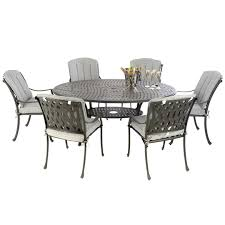 Cast Aluminium 170 Oval Table With 6 Venetian Chairs (Black) With Full  Cushions Brompton Metal Garden Rectangular Set Fniture Compare 56 Bistro Black Wrought Iron Cafe Table And Chairs Pana Outdoors With 2 Pcs Cast Alinium Tulip White Vintage Patio Ding Buy Tables Chairsmetal Gardenfniture Italian Terrace Fniture Archives John Lewis Partners Ala Mesh 6seater And Bronze Home Hartman Outdoor Products Uk Our Pick Of The Best Ideal Royal River Oak 7piece Padded Sling Darwin Metal 6 Seat Garden Ding Set