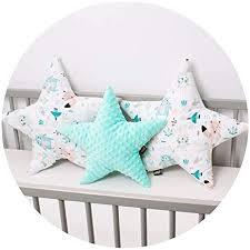 3 pack palulli kissen set sternchen zierkissen ø 40cm u 2 x ø 50cm kinderzimmer zimmer deko sternkissen baby dekokissen mit füllung für