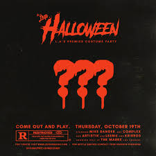 Halloween In Los Angeles From by The Trap Halloween Tickets 10 19 17