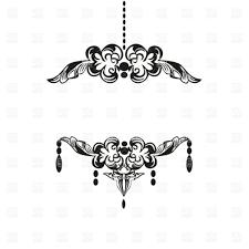 Gold Chandelier Clip Art Black Vintage Silhouette Download Royalty Free Vector File Eps 48180 Plans