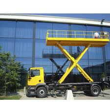 Truck-mounted Scissor Lift / Rough Terrain / Hydraulic / Diesel ... Fifth Wheel Hydraulic Truck Lift Item 3521 Sold Septemb Alshehili For Eeering Industries Hydraulic Tail Apex Hitchmount Crane Pickup Truck Steel Jib Lift 1000 Lb Used 1 Ton With Ce Buy Linde 1t Electric Pallet Stacker Mes1030 Wikipedia Keystone Dump For Sale Sold Antique Toys Lifts Pickup Pals How To A Car Motorhome Gator Jack Jack Scissor Highlift Lifting Pthm Tailgate Unique Amerideck Superdeck Iii