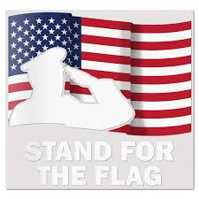 100 Lighthouse Truck And Auto Amazoncom Best In USA Flag Saluting Stand For The Flag USA