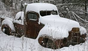 Old Truck In Snow | The Beauty Along The Road
