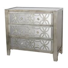 Pier One Hayworth Dresser Dimensions by 3 Drawer Antique Silver Mirror Cabinet Dream A Little Dream Home