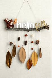 Homemade Fall Decorations Hello Hanging Diy For Your Room