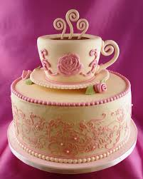 Top 20 Pretty Tea Cups And Pots Cakes