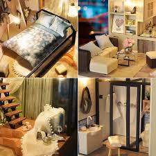 Dollhouse Bedroom Set Miniature Dollhouses Miniature Furniture