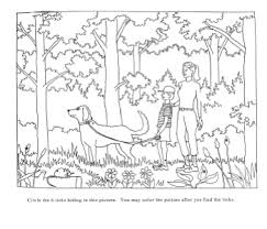 Tick Coloring Pages And Worksheets