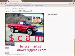 100 Phx Craigslist Cars Trucks CRAIGSLIST SCAM ADS DETECTED ON 02212014 Updated Vehicle Scams