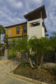 100 Contemporary Architectural Designs Contemporary Architectural Design Residence St Pete Sidewalk View