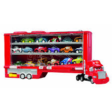 Disney Cars Micro Drifters Mack Truck Display Storage Case | EBay Jual Mainan Mobil Rc Mack Truck Cars Besar Diskon Di Lapak Disney Carbon Racers Launcher Lightning Mcqueen And Transporter Playset Original Pixar Cars2 Toys Turbo Toy Video Review Heavy Cstruction Videos Mattel Dkv55 Protagonists Deluxe Amazoncouk Red Tayo Amazoncom Disneypixar Hauler Carrying Case 15 Charactertheme Toyworld Story Set Radiator Springs Pictures