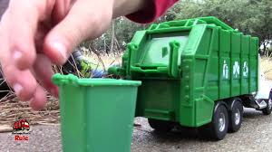 Garbage Truck Videos For Children L Garbage Trucks In Action L ...