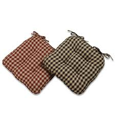 Classic Country Check Chair Pad | Buffalo Check In 2019 ... Rocking Chair Cushion Set Theodore Alexander Ding Room Country Lifestyle Arm Best Baby Bouncer Chairs The Best Uk Bouncers And Deals Sales For Fniture Cushions Bhgcom Shop Seat Pads Quilted Memory Foam With Ties Birthing Chair Wikipedia Chairs Patio Home Depot Amazoncom Office Stain Resistant Gripper Kitchen Wayfair