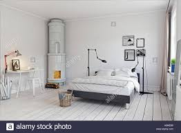 100 Swedish Bedroom Design Modern Bedroom With Classic Swedish Stove 3d Concept