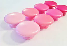 items similar to pink dresser knobs choose from petal pink