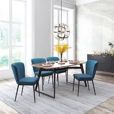Winsome Blue Velvet Dining Room Set Centerpieces Round Table ... Small Round Ding Table In Black With 4 Teal Blue Velvet Chairs Rhode Island Kaylee Remarkable Navy Set Tufted Uptown Chair Silver Leaf Including Modern Lovely Pink Upholstered Gold Room Metal Frame Of 2 Extraordinary Covers Slipcovers A Rustic Elegant Thanksgiving Eclectic Living Room Home White Extendable 6 Vivienne Jenna Belinda Ding Chair Navy Khamila Fniture Store Kallekoponnet Kitchen Design Tiffany Slate Amusing