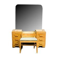 Heywood Wakefield Dresser Styles by 1950s Heywood Wakefield Style Birch Dressing Table Vanity Mirror