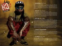Lil Wayne No Ceilings 2 Album Tracklist by Lil Wayne U0027s U201ci Am Not A Human Being U201d Released Today
