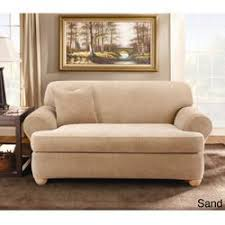 Sure Fit Scroll T Cushion Sofa Slipcover by Best 25 Loveseat Slipcovers Ideas On Pinterest No Sew Slipcover