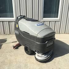 Riding Floor Scrubber Training by Advance Warrior 28 Disc Floor Scrubber Preowned Bortek Industries