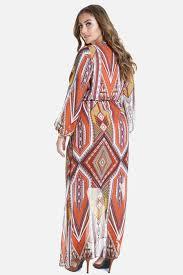 size jadine printed chiffon maxi dress fashion figure