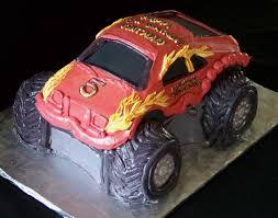 100 Monster Truck Cake Pan Birthday