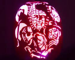 Freddy Krueger Pumpkin by Hand Carved Pennywise The Clown It Pumpkin