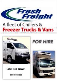 Refrigerated Truck Transport, Chiller Van, Freezer Pickup And ...
