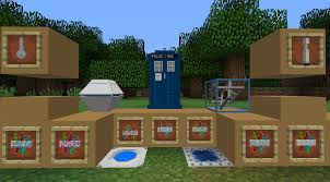 TARDIS Mod Mods Minecraft CurseForge