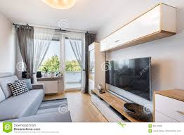 100 Interior Design For Small Apartments Living Room In Apartment Stock Image Image Of Corner