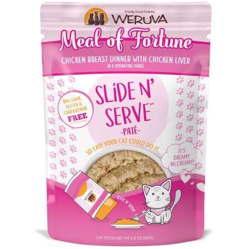 Weruva 813778018951 2.8 oz Cat Slide & Serve Meal of Fortune Food