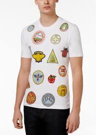 moschino love moschino men u0027s slim fit graphic print t shirt t