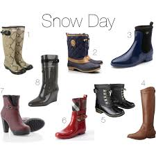 Fashion Style Clothing Shoes Boots Winter Rain