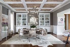 Refined Rustic Dining Room Design By Jeff Akseizer And Jamie Brown