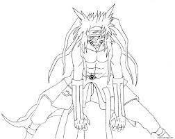 Coloriage Manga Naruto 28 JeColoriecom
