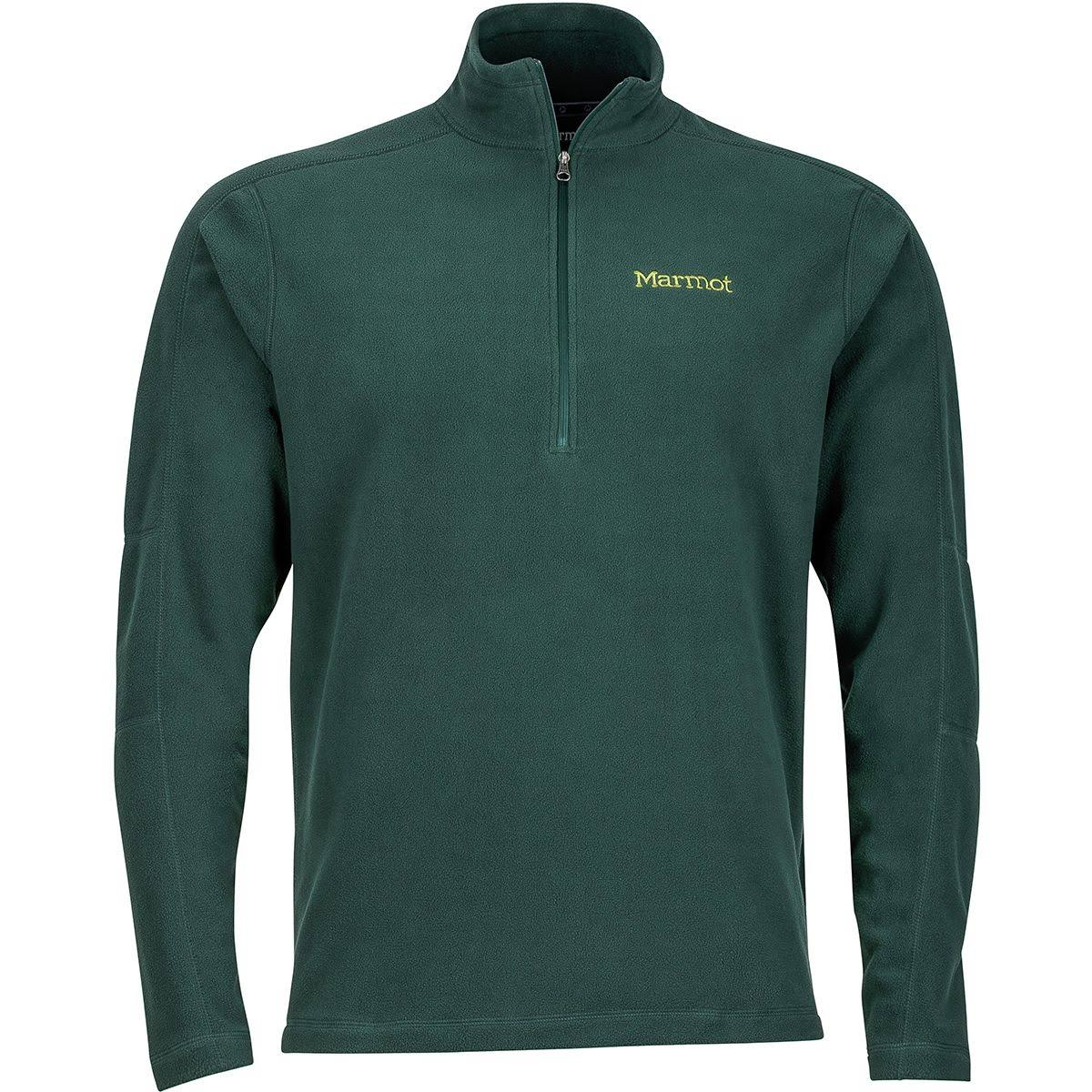 Marmot: Men's Rocklin 1/2 Zip - Dark Spruce