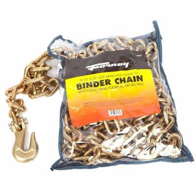 Forney 70397 Binder Chain 516-inch By 20-feet