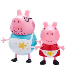 unordentliche küche spielset peppa pig figur peppa wutz papa wutz