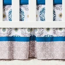 Trend Lab 3pc Crib Bedding Set – Monaco Tar