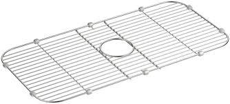 Kohler Sink Grid Stainless Steel by Kohler Stainless Steel Sink Rack 27 7 8