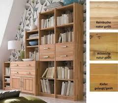 details zu massivholz stufenregal geölt bücherregal regal wandregal holz wohnzimmer schrank
