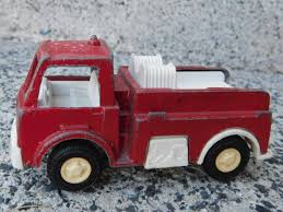 100 Tootsie Toy Fire Truck Vintage Car 1970 Diecast And Plastic