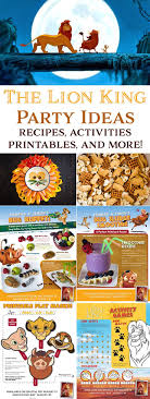 Easy The Lion King Party Ideas And Recipes