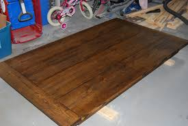 100 build dining room table the table is made from a pallet