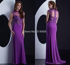 long purple formal dress photo album usland