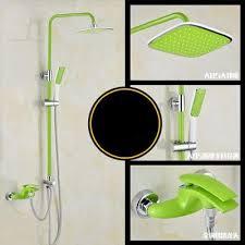luxurious shower badezimmer luxus bunte mixer mit bidet