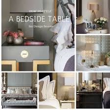 How To Style Your Bedside Table Furniture OnlineLuxury