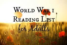 World War 1 Reading List