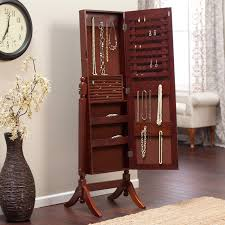 Jewelry Armoires & Boxes Linon Ruby Fivedrawer Jewelry Armoire With Mirror Cherry Amazoncom Diplomat 31557 Wood Watch Cabinet Mele Co Chelsea Wooden Dark Walnut Vista Wall Mount Walmartcom Hives And Honey Florence Antique Wall Mounted Lighted Jewelry Armoire Abolishrmcom Belham Living Swivel Cheval Hayneedle Southern Enterprises Classic Mahogany Tips Interesting Walmart Fniture Design Ideas Upright Box Solid Home Best All And Decor