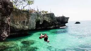 GIF Cliff Jumping Jamaica